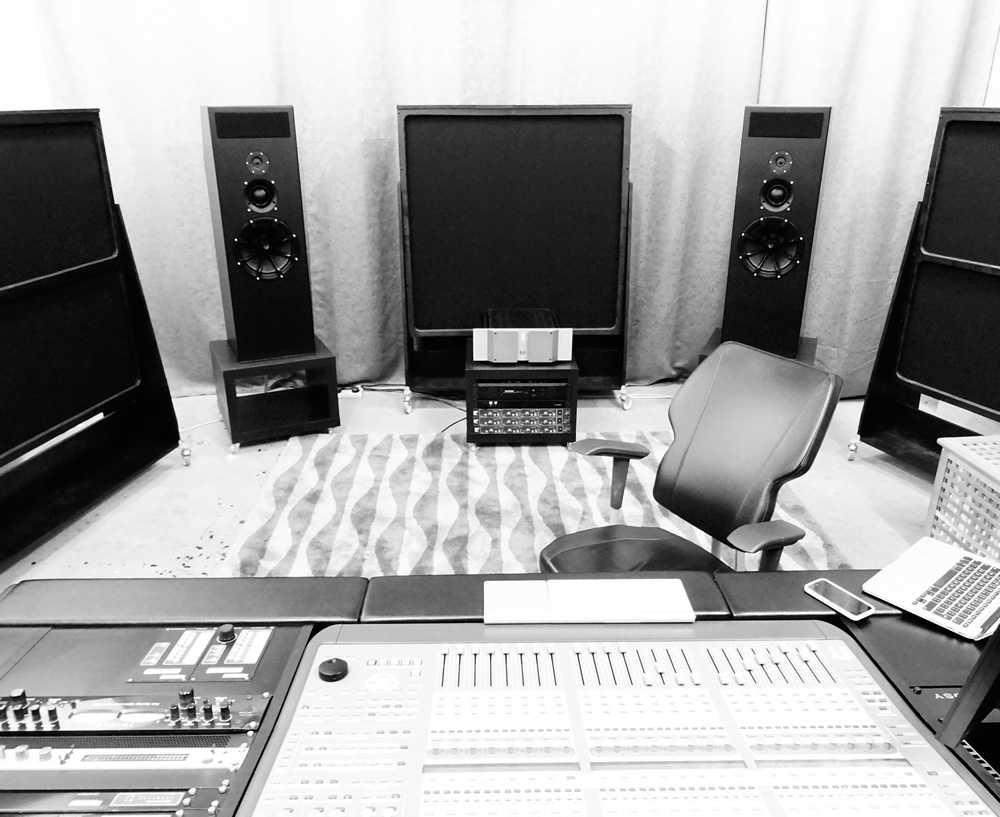 landscape picture of the Higher Level Mastering studio